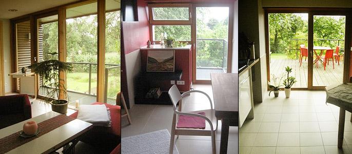 Besprechnungsraum - Übernachtungsraum - Küche