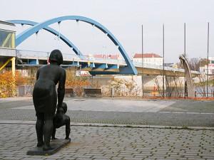 Stadtbrücke zwischen Frankfurt(Oder) und Slubice